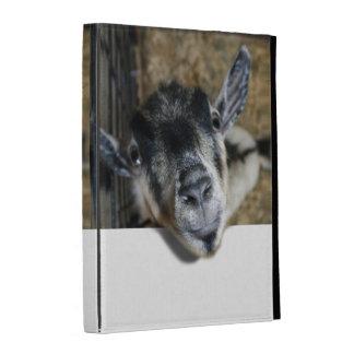 Nosy Goat Looking Up iPad Folio Cases