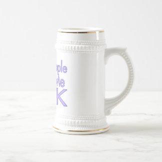 Nosy People Make Me Sick Mug