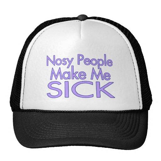 Nosy People Trucker Hat