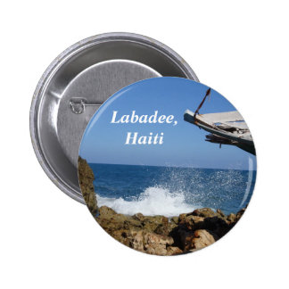 Not A Bad Place To Be Shipwrecked Pinback Button