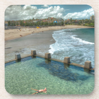 Not a care in the world- Coogee, Australia Beverage Coaster