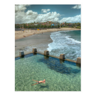 Not a care in the world- Coogee Australia Postcards