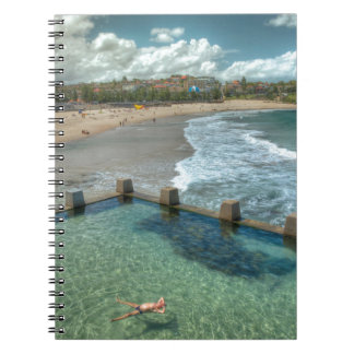 Not a care in the world- Coogee, Australia Spiral Notebook