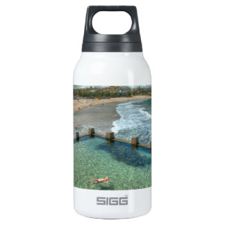 Not a care in the world- Coogee, Australia Thermos Water Bottle