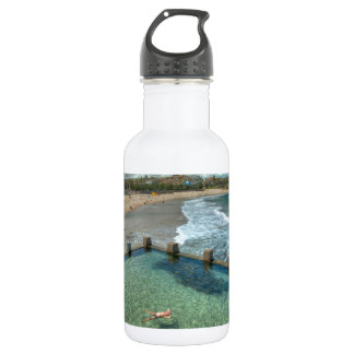 Not a care in the world- Coogee, Australia Water Bottle
