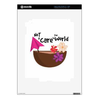 Not A Care iPad 2 Skin