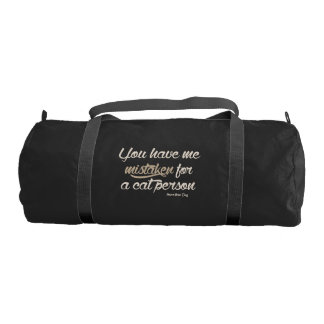 Not a Cat Person Gym Bag