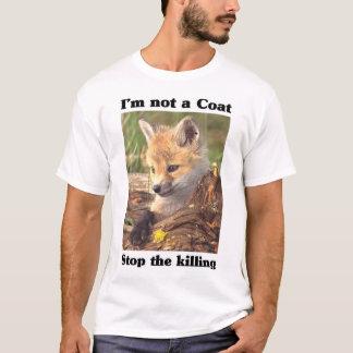 Not A Coat-Fox T-Shirt
