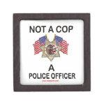 NOT_A_COP_A_POLICE_OFFICER CAJAS DE JOYAS DE CALIDAD