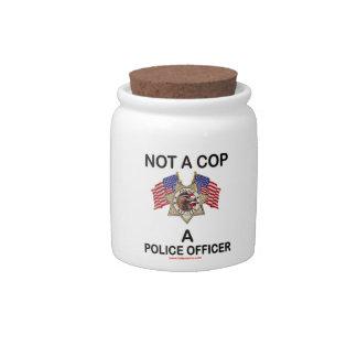 NOT_A_COP_A_POLICE_OFFICER PLATO PARA CARAMELO