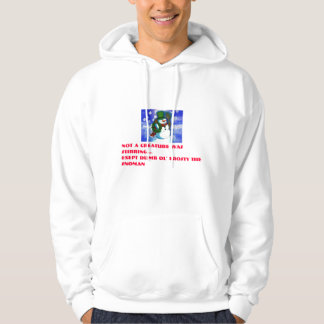 Not a creature was stirring.... hoodie