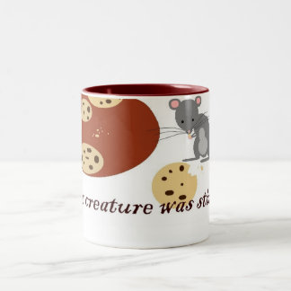 Not a Creature Was Stirring Two-Tone Coffee Mug