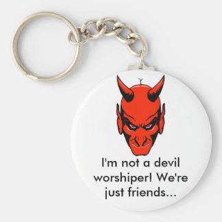 Not a Devil Worshiper Keychain