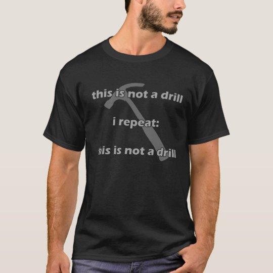 not a drill shirt