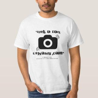 """Not a fan of shaky cam!"" T-Shirt"
