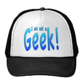 Not A Geek Mesh Hats