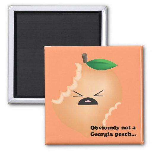 Not-A-Georgia-Peach Magnets
