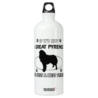 Not a Great Pyrenese Water Bottle