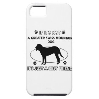 Not a greater swiss mountain dog iPhone SE/5/5s case