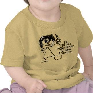 """Not a gud spellur"" Baby/Toddler/Childrens T-Shirt"