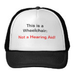 Not a Hearing Aid Trucker Hat