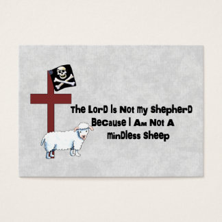 Not A Mindless Sheep Business Card