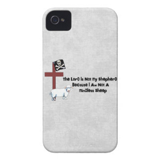Not A Mindless Sheep Case-Mate iPhone 4 Case