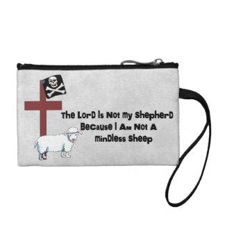 Not A Mindless Sheep Coin Purse