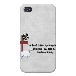 Not A Mindless Sheep iPhone 4/4S Case