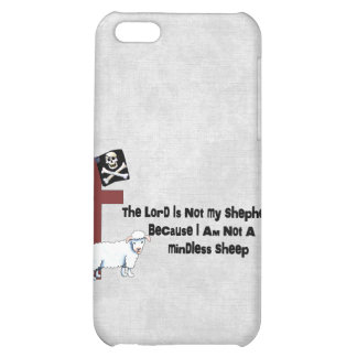 Not A Mindless Sheep iPhone 5C Cases