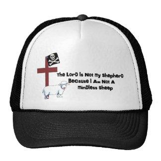 Not A Mindless Sheep Mesh Hats