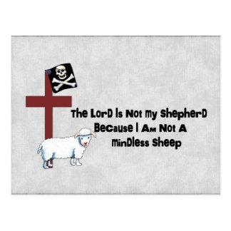 Not A Mindless Sheep Postcard