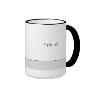 Not a Morning Person 6- Caricature Mug