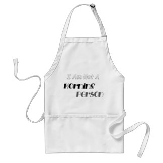 Not A Morning Person Adult Apron