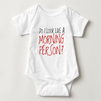 Not A Morning Person Baby Bodysuit