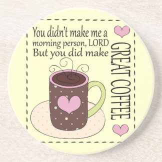 Not a Morning Person, Coffee Lover Coasters