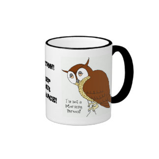 'Not a Morning Person' Coffee Mug