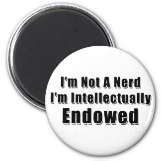 Not a Nerd 2 Inch Round Magnet