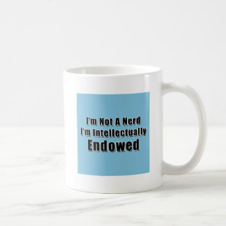 Not a Nerd Classic White Coffee Mug