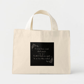 Not a People Person Mini Tote Bag