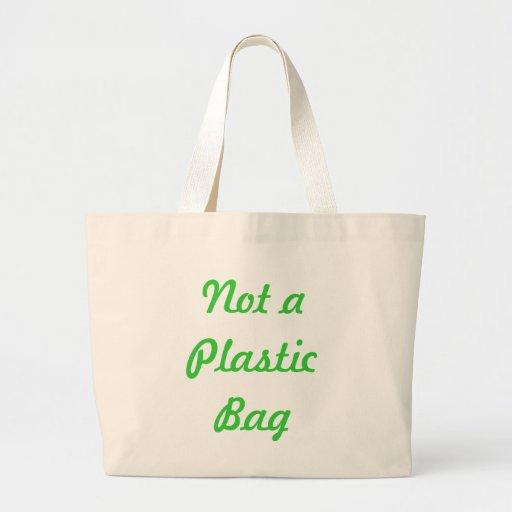 Not a Plastic Bag Tote Bag