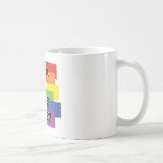 Not a second class citizen classic white coffee mug