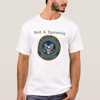 Not A Terrorist With Seal T-Shirt