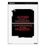 Not a Tragedy iPad Skin