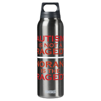 Not a Tragedy Liberty Bottle 16 Oz Insulated SIGG Thermos Water Bottle