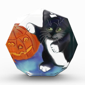 Not a very Scary Halloween Pumpkin Acrylic Award