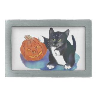 Not a very Scary Halloween Pumpkin Belt Buckle