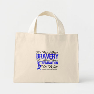 Not About Bravery - Anal Cancer Mini Tote Bag