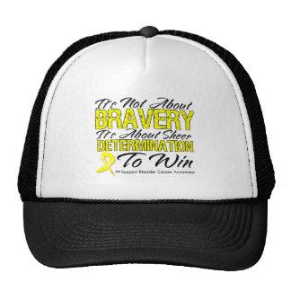Not About Bravery - Bladder Cancer Trucker Hats