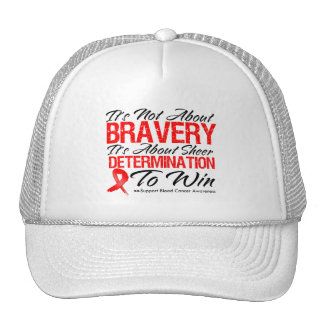 Not About Bravery - Blood Cancer Trucker Hat